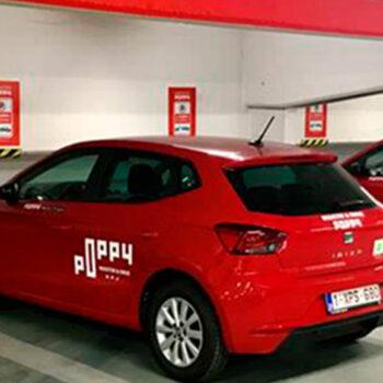 Poppy corner Parking Diamant Antwerpen